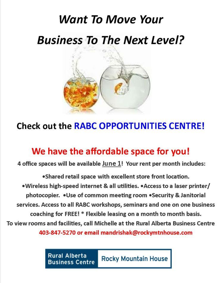 Succeed in #Business! Check out the RABC #Opportunities Centre - a small #biz #incubator.