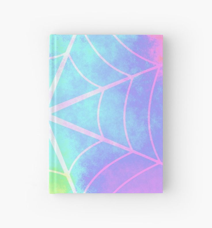 Spiderweb in pastels by cocodes #notebook . Perfect for your #diary. @redbubble