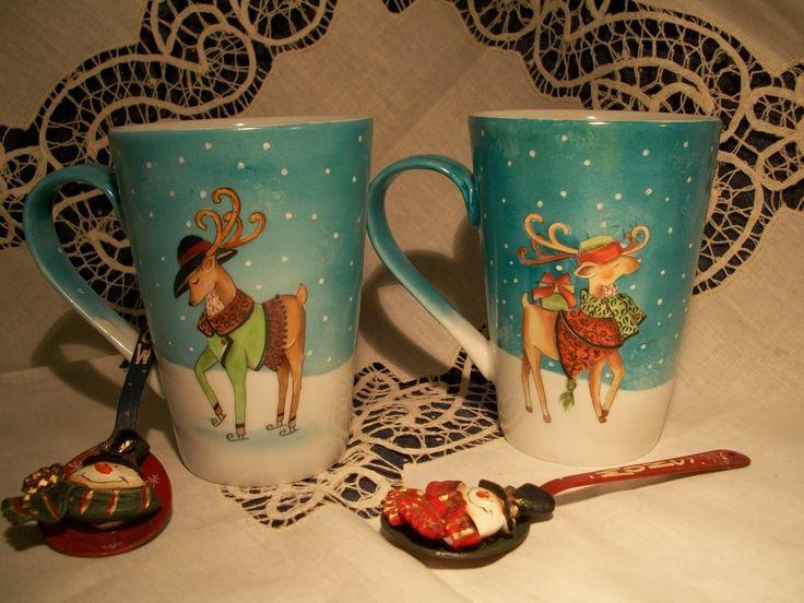 Le porcellane di Morena: Natale - Christmas - Noel