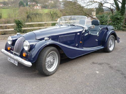 morgan plus 4 four seater 2 litre 1993