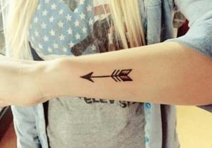 Signification des tatouages de flèches