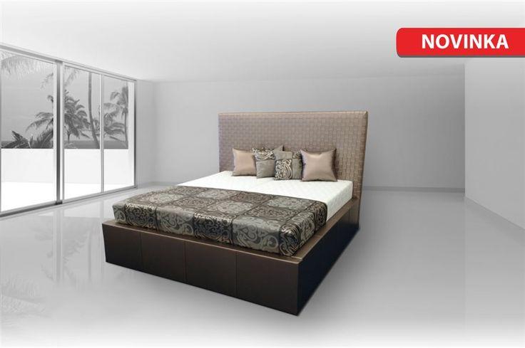 Luxusná posteľ Neli