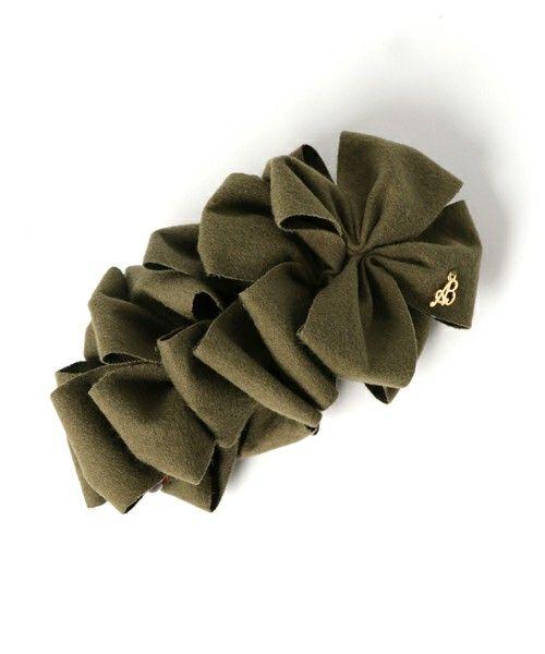 【ZOZOTOWN|送料無料】Ange Bloom(アンジェブルーム)のバレッタ/ヘアクリップ「ヘリンボーンpetitフリルミニバナナクリップ」(204308911)を購入できます。