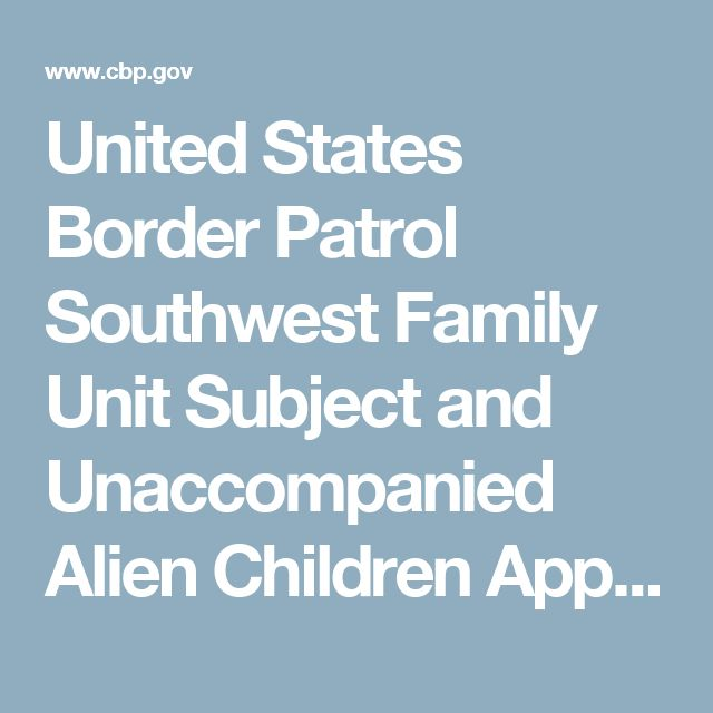 United States Border Patrol Southwest Family Unit Subject and Unaccompanied Alien Children Apprehensions Fiscal Year 2016   U.S. Customs and Border Protection