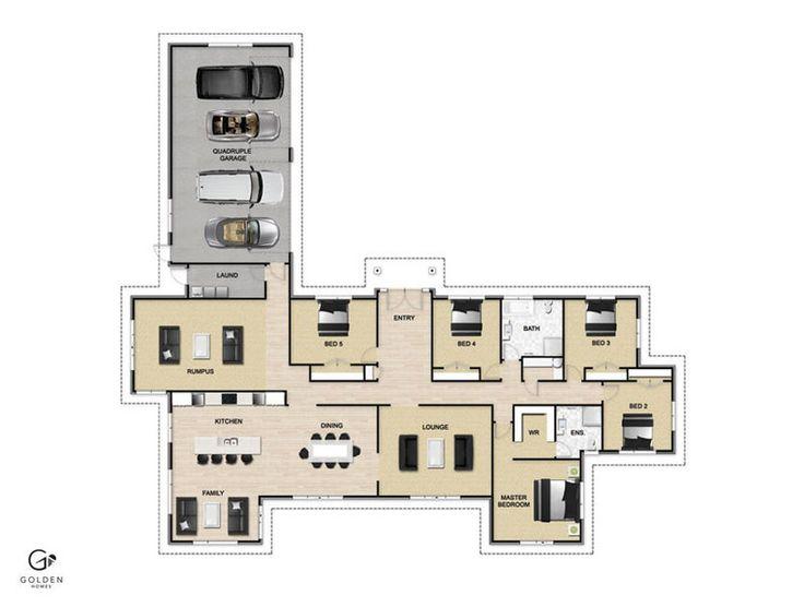 Continental Floorplan #GoldenHomes