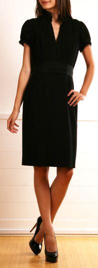 ALEXANDER MCQUEEN DRESS #LittleBlackDress