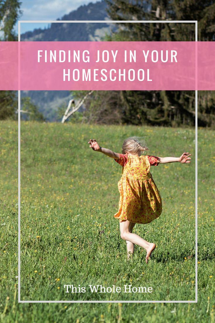 How to Rediscover Your Joy in Homeschool