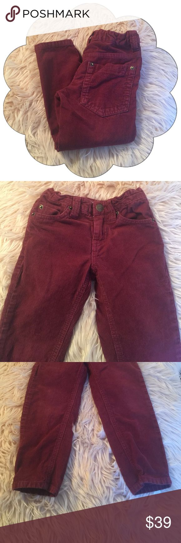 FabKids Burgundy Skinny Jeans Corduroy Great Condition FabKids Bottoms Jeans