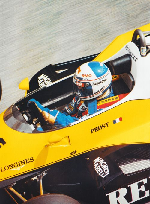 Alain Prost Renault