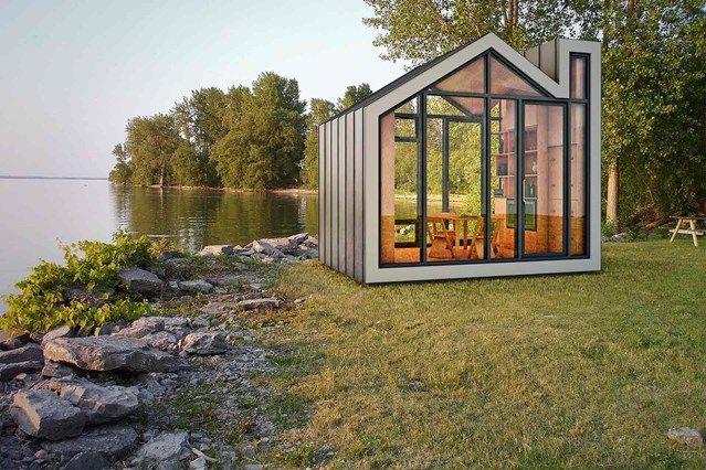 Best 25 garden pods ideas on pinterest contemporary for Flat pack garden room