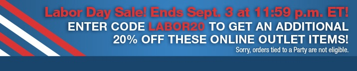 Love this labor day sale! Promo code LABOR20 for an extra 20% off online outlet prices :o) www.partylite.biz/andreabiggs