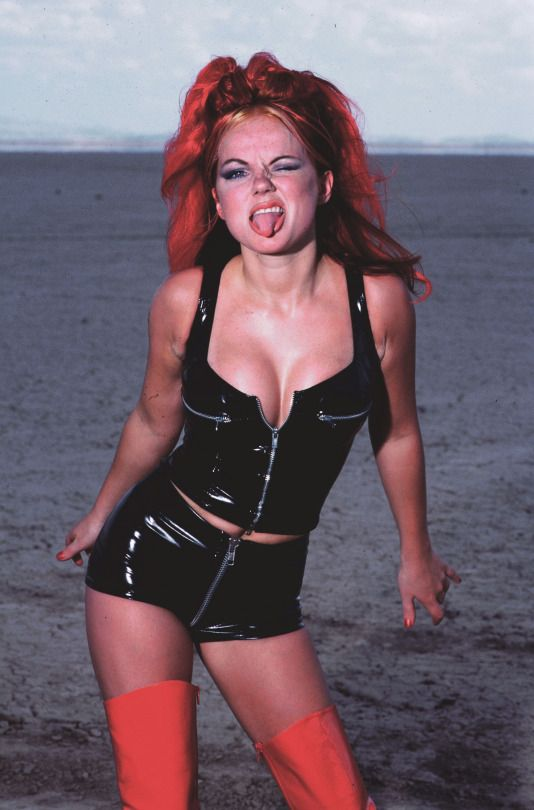 Sorry, Ginger girl spice geri halliwell nude something also