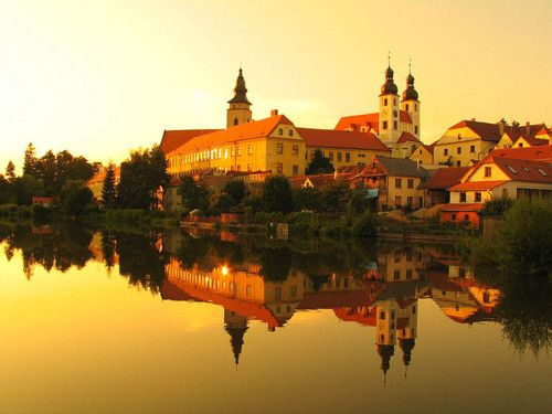 Telc, Czech Republic  this could well be China from the looks of it but because it's not, I wanna go!