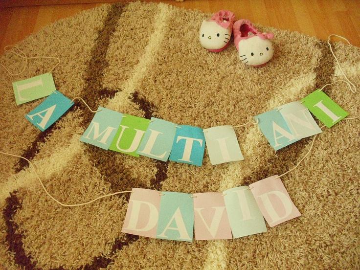 happy bday david