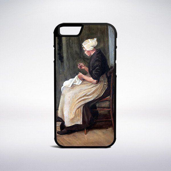 Vincent Van Gogh - Young Scheveningen Woman Seated Phone Case – Muse Phone Cases