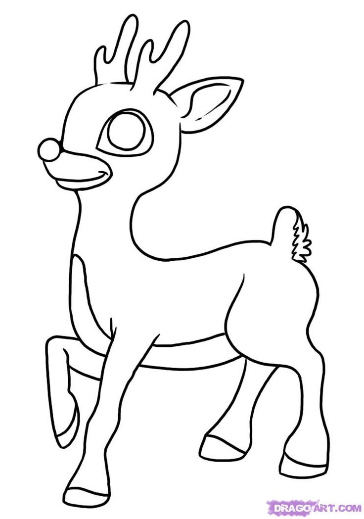rudolph the red nosed reindeer rudolph the red nosed reindeer coloring page source pictures