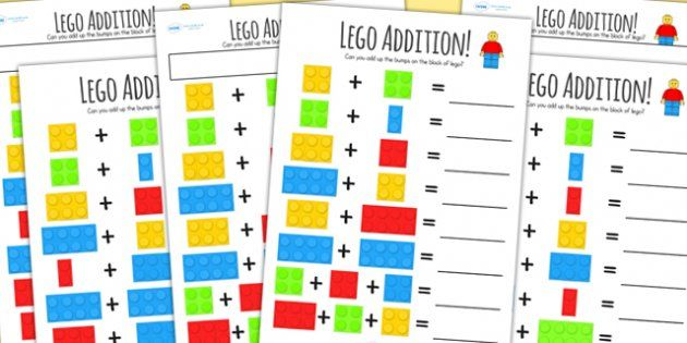 Addition Worksheets pattern addition worksheets : Twinkl Resources >> Lego Addition Worksheet << Classroom ...
