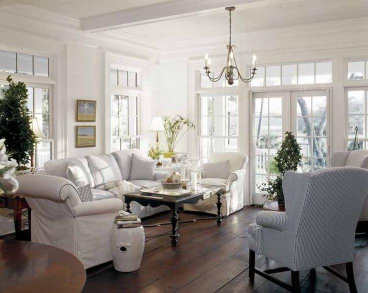 I love these floors and windows, windows, windows!