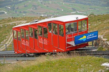 Muottas Muragl-Bahn (MMB), Nr. 2, Punt Muragl (GR) - Muottas Muragl (GR) v.v.