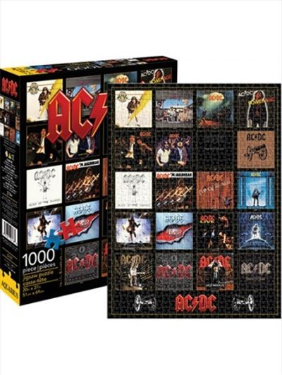 AC/DC Discography Puzzle 1000 Pieces