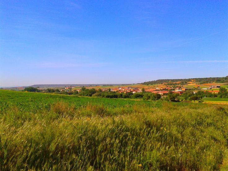 Santibáñez de Valdeiglesias, León, Camino de Santiago