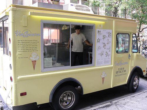 Van Leeuwen Ice Cream Truck.  Amazing.
