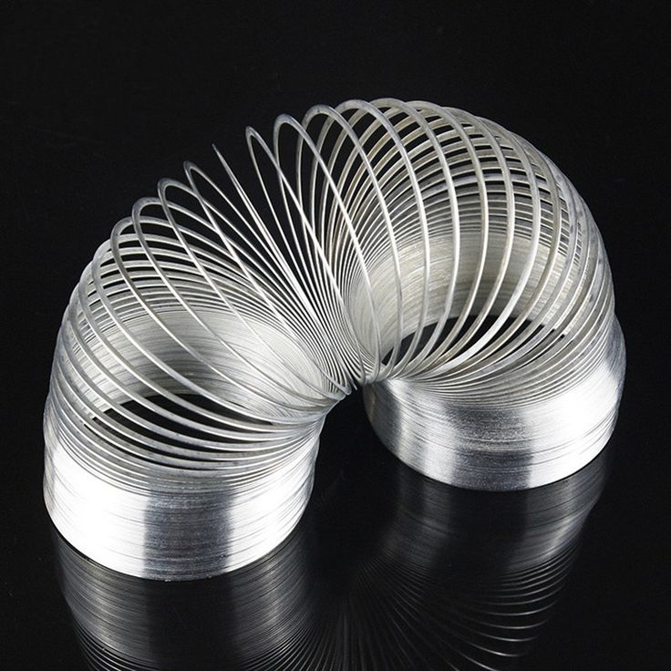 Century of Toys! Metal Slinky Rainbow Spring Type Spring Fidget Toy For Children Funny Toys Stress Relief Autism