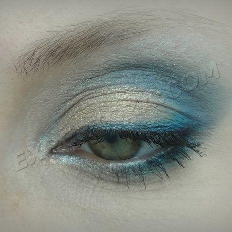 Как сделать бирюзовый макияж | Expertoza
