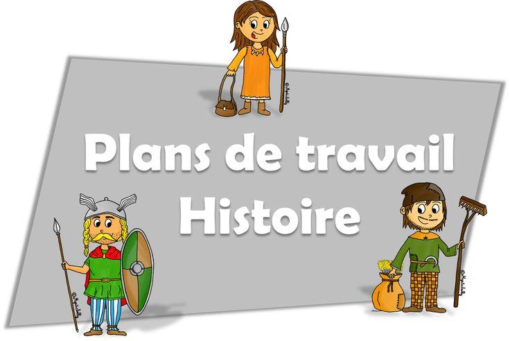 Plans de travail en Histoire