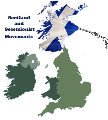 Nationalism, unionism and secession in Scotland