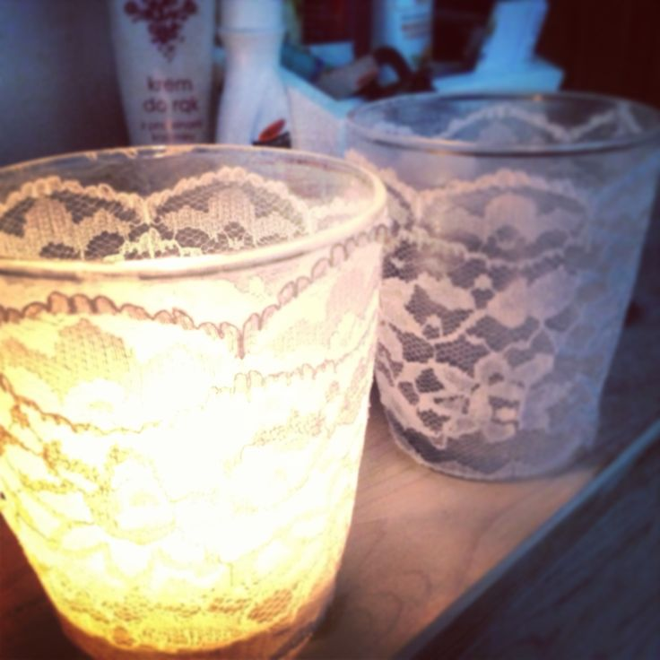#candle #lace #cute #romantic