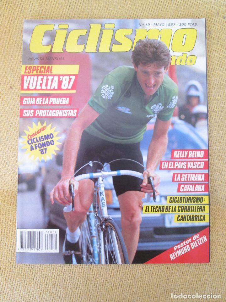 REVISTA CICLISMO A FONDO N º 19 MAYO 1987