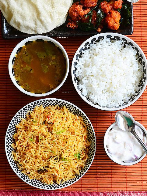 20 best indian lunch menu ideas images on pinterest cooking food lunch menu 30 tomato bhath gobi 65 rasam forumfinder Images