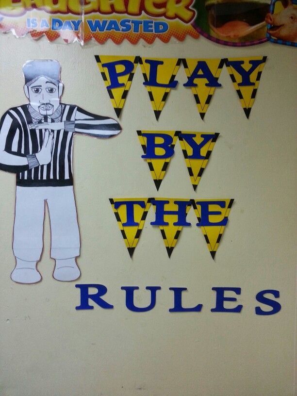 Display class rules... sports theme & 80 best Sports-Themed Classroom images on Pinterest | Classroom ...