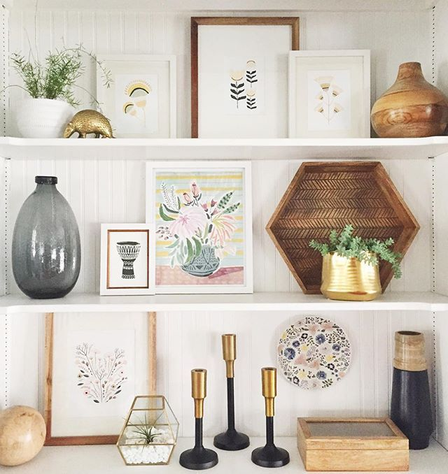 Shelf Decor Ideas: Another Day. Another Exciting Instagram Of These Shelves