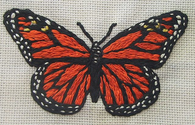Ravelry: csfgirl's Embroidered Butterflies