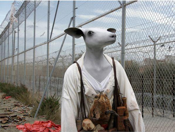 Jane Alexander - Frontier with ghost, (2007)