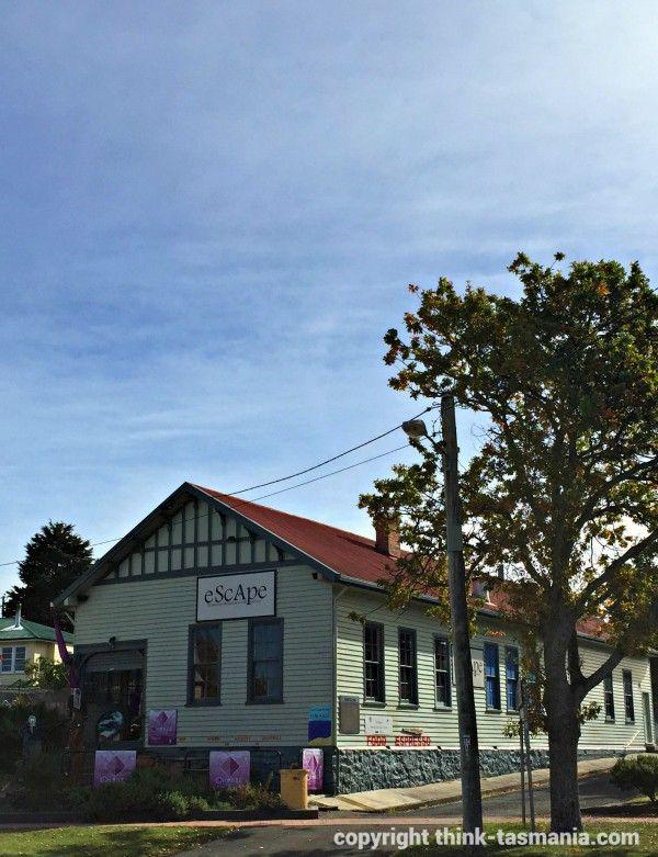 E.Scape Gallery, St Marys #Tasmania... article and photo for think-tasmania.com