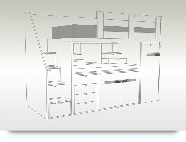 Armario Garaje Ikea ~ 100+ ideas to try about Quartos de meninos Um, Bunk bed shelf and UX UI Designer