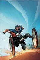 UNCANNY X-FORCE #12 I AM CAPTAIN AMERICA VARIANT - Comic Art Community GALLERY OF COMIC ART