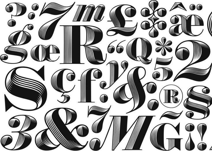 Comment se crée une police de caractères: petite explication illustrée avec Obsidian   Slate.fr