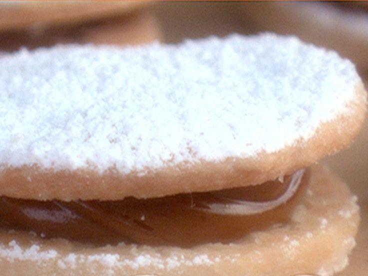 Dulce de Leche Cookie Sandwiches (Alfajor) from FoodNetwork.com