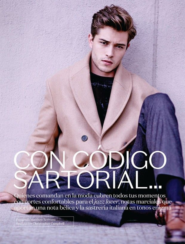 Francisco Lachowski, Adam Senn and Arthur Kulkov for Vogue Hombre