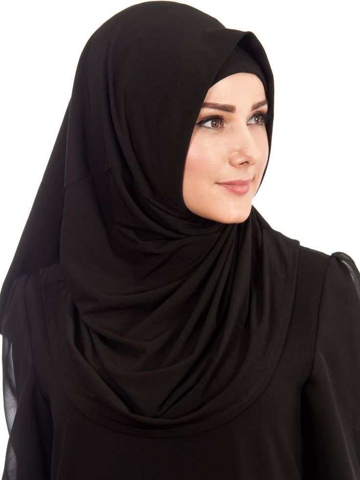 Siyah Esarp Modelleri 2017 1