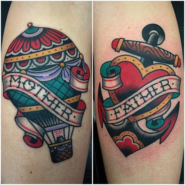 268 best old school new traditional tattoos images on for Tattoo school listings