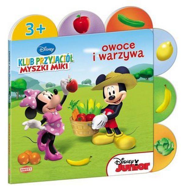 #Książka dla dzieci OWOCE I WARZYWA #Klub Przyjaciół Myszki Miki #Myszka Miki