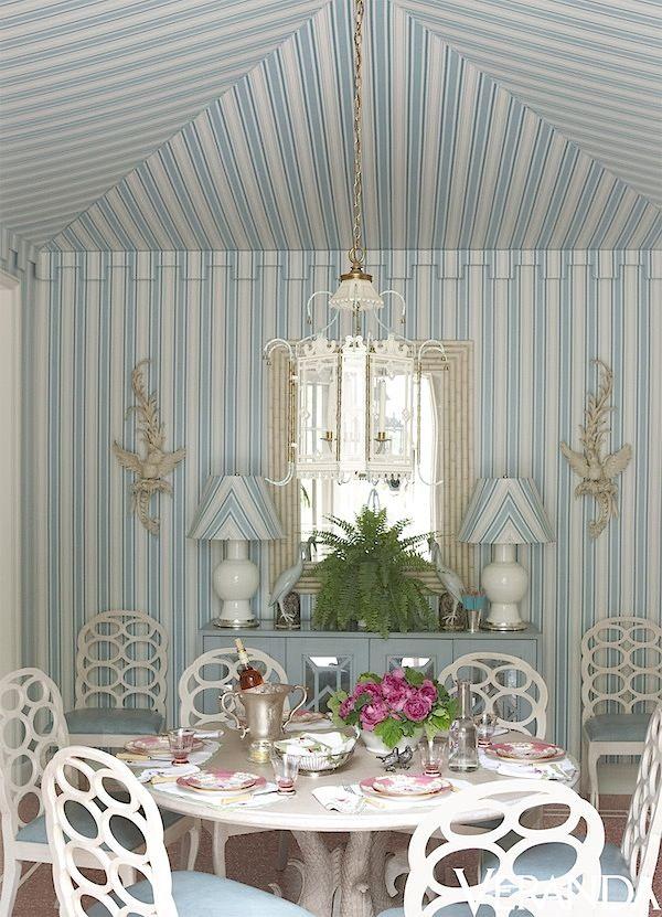 Breakfast room by Miles Redd