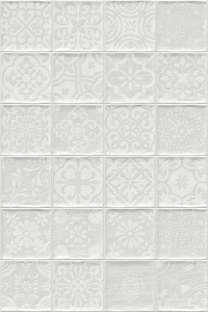 Vives Tamil Blanco 13×13 cm | Spanyol csempe és padlólap