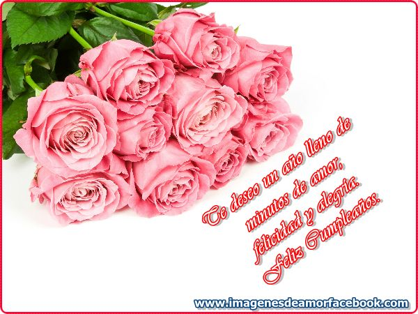 Un ramo de rosas para ti cumpleaños para todas las personas Pinterest Facebook