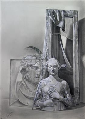 The pleasant dream of melancholy (1985) - Рене Магритт